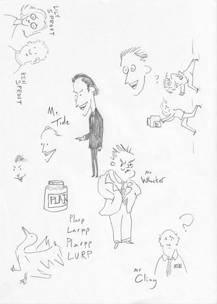 larp sketches